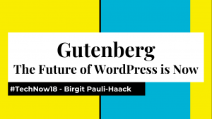 Cover: Gutenberg-The Future of WordPress is Now